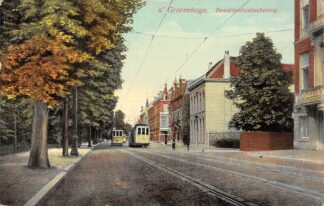 Ansichtkaart 's-Gravenhage Bezuidenhoutscheweg HTM Tram Lijn 2 HC26750