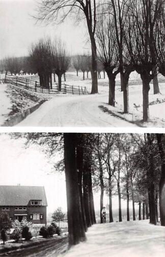 Ansichtkaart Zo was Dordrecht Krommedijk bij de Korte Scheidingsweg omstreeks 1920 (1967) Winter HC26782
