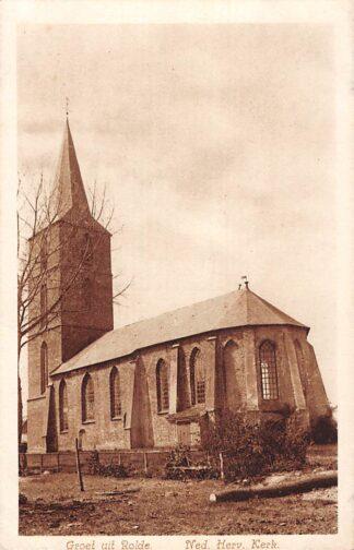 Ansichtkaart Rolde Ned. Hervormde Kerk Nauta A 2528 HC26805
