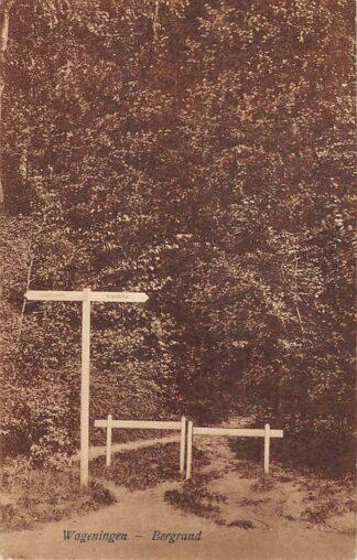 Ansichtkaart Wageningen Bergrand 1924 HC26809