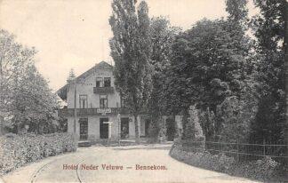 Ansichtkaart Bennekom Hotel Neder Veluwe met tramspoor HC26814