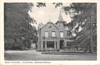 Ansichtkaart Zuidlaren Gemeentehuis Mooi Drenthe 1944 HC26832