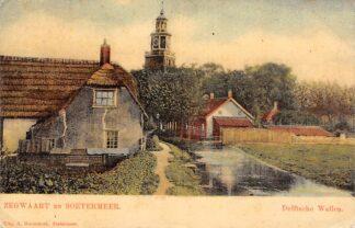 Ansichtkaart Zoetermeer Zegwaart en Soetermeer Delftsche Wallen 1913 Tulp HC26846
