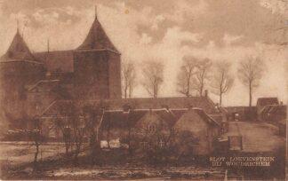 Ansichtkaart Woudrichem Slot Loevestein 1922 Kasteel HC26854