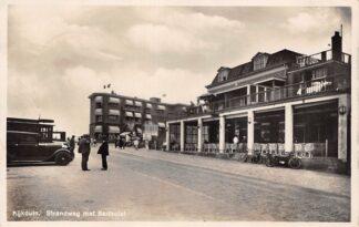 Ansichtkaart Kijkduin Strandweg met Badhotel Auto 1934 's-Gravenhage HC26855