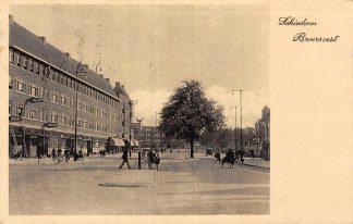 Ansichtkaart Schiedam Broersvest 1938 HC26863