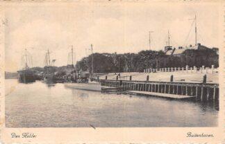 Ansichtkaart Den Helder Buitenhaven 1943 Marine schepen Scheepvaart HC26867