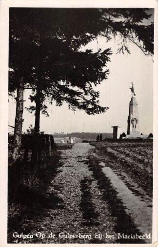 Ansichtkaart Gulpen Op de Gulperberg bij het Mariabeeld 1949 Monument HC26919