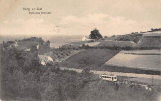 Ansichtkaart Berg en Dal bij Nijmegen Panorama Keteldal met tram Bergspoor 1914 HC26924