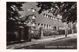 Ansichtkaart Schiedam Broedersklooster Warande 1951 Type fotokaart HC26954