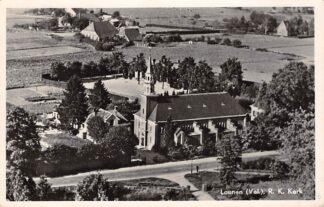 Ansichtkaart Loenen (GD) Veluwe Luchtfoto R.K. Kerk HC26966