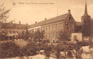 Ansichtkaart België Meerle Zicht in den Hof van het Ursulinen Klooster 1934 Europa HC26975