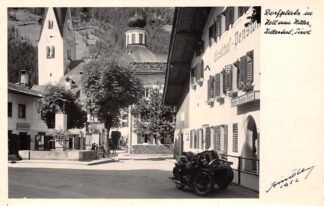Ansichtkaart Oostenrijk Dorfplatz im Zell am Ziller Zillertal Tirol Austria Osterreich Europa HC26985