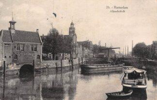 Ansichtkaart Rotterdam Albrechtskolk Delfshaven 1927 HC27071