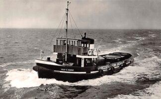 Ansichtkaart Amsterdam Sleepboot Philip R. Goedkoop N.V. Reederij v/h Gebr. Goedkoop 1959 Schepen Scheepvaart HC27133