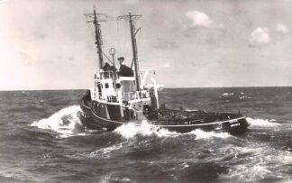 Ansichtkaart IJmuiden Motor sleepboot Simson N.V. Bureau Wijsmuller 1960 Scheepvaart Schepen HC27141