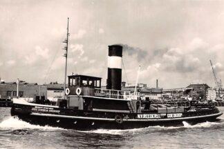 Ansichtkaart Amsterdam Sleepboot Anna Cornelia Goedkoop N.V. Reederij Gebr. Goedkoop 1960 Schepen Scheepvaart HC27145