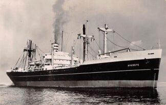 Ansichtkaart Rotterdam s.s. Averdijk Holland Amerika Lijn 1957 Scheepvaart Schepen HC27202