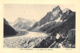 Ansichtkaart Zwitserland Chamonix La mer de glace Stoomtrein Treinen Spoorwegen Schweiz Suisse Switzerland Europa HC27219