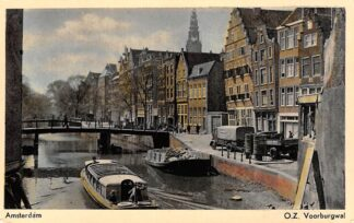 Ansichtkaart Amsterdam O.Z. Voorburgwal HC27236