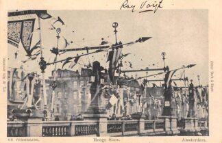 Ansichtkaart Amsterdam Hooge Sluis De versiering HC27248