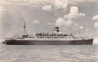 Ansichtkaart Rotterdam s.s. Maasdam 198 Holland America Line Scheepvaart Schepen  HC27348