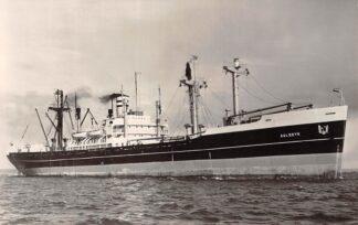 Ansichtkaart Rotterdam s.s. Aalsdyk 1958 Holland Amerika Lijn Scheepvaart Schepen HC27349