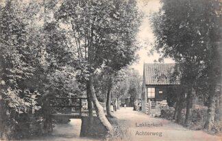 Ansichtkaart Lekkerkerk Achterweg 1912 Krimpenerwaard HC27389