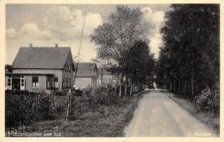 Ansichtkaart Oostvoorne aan Zee Duinlaan jaren 30 HC27397