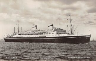 Ansichtkaart Denemarken Gdynia - America Line m.s. Batory Scheepvaart Schepen Danemark Danmark Europa HC27409