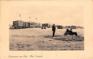 Ansichtkaart Oostvoorne aan Zee Aan 't strand 1942 HC27433