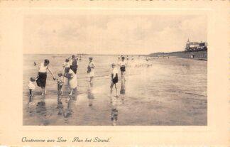 Ansichtkaart Oostvoorne aan Zee Aan het Strand 1942 HC27434