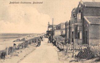 Ansichtkaart Oostvoorne aan Zee Badplaats Boulevard 1922 HC27449
