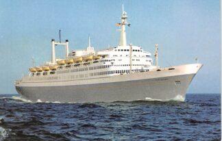 Ansichtkaart Rotterdam Flagship Rotterdam Holland America Line Scheepvaart Schepen HC27483