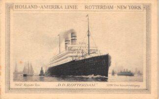 Ansichtkaart Rotterdam D.D. Rotterdam Holland Amerika Lijn Scheepvaart Schepen HC27493