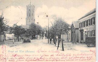 Ansichtkaart Elst (GD) Betuwe Dorpsstraat 1902 Vivat No. 2727 HC27514