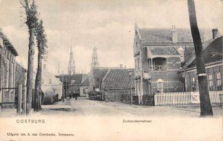 Ansichtkaart Oostburg Zuidzandschestraat 1900 Sluis Zeeuws-Vlaanderen HC27519