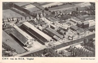 Ansichtkaart Veghel C.H.V. van de N.C.B. KLM Luchtfoto No. 22053 HC27530