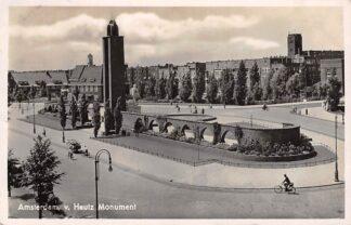 Ansichtkaart Amsterdam v. Heutz Monument 1940 HC27533