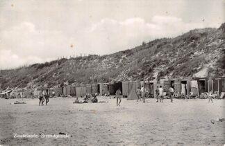 Ansichtkaart Zoutelande Strand gezicht 1959 Walcheren HC27567