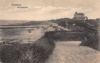 Ansichtkaart Domburg Strand gezicht 1939 HC27611