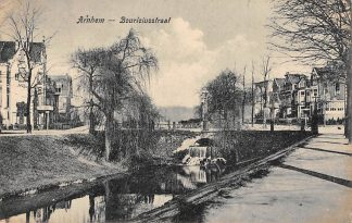Ansichtkaart Arnhem Bouriciusstraat 1923 HC27619