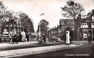 Ansichtkaart IJmuiden Kennemerlaan 1958 HC27677