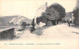 Ansichtkaart België Anseremme La Route de Dinant et la Meuse 1900 Europa HC27741