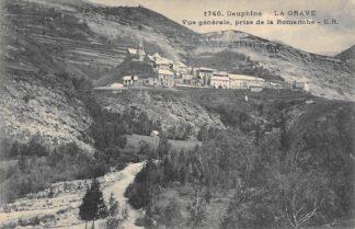 Ansichtkaart Frankrijk Dauphine La Grave Vue generale prise de la Romanche France Europa HC27755