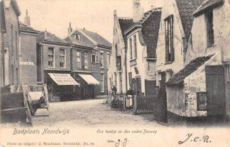 Ansichtkaart Badplaats Noordwijk Een hoekje op den ouden Zee weg 1902 HC27765