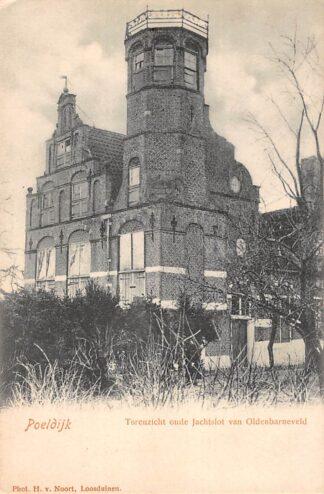 Ansichtkaart Poeldijk Torenzicht oude Jachtslot van Oldenbarneveld Westland HC27802