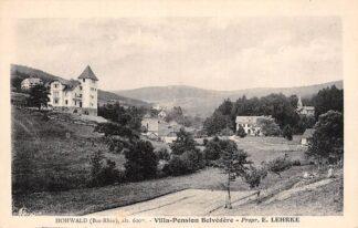 Ansichtkaart Frankrijk Hohwald Villa Pension Belvedère - Prop. E. Lehrke France Europa HC27808