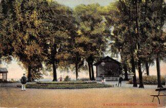 Ansichtkaart 's-Hertogenbosch Plantsoen 1909 HC27870