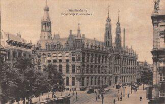 Ansichtkaart Amsterdam Koninklijk Postkantoor Tram HC27879